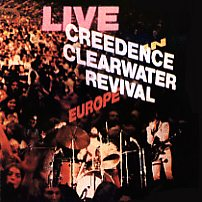 Creedence Live In Europe LP Front