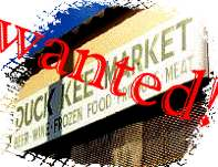The Duck Kee Market sign has been stolen!